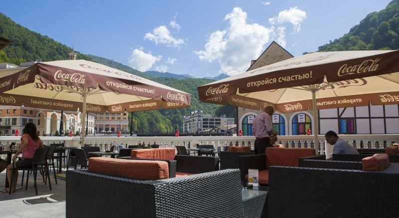 Отель Park Inn by Radisson Rosa Khutor Красная Поляна территория - 38
